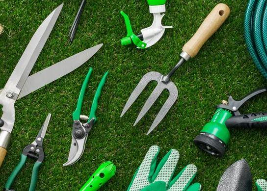 herramientas de parques y jardines